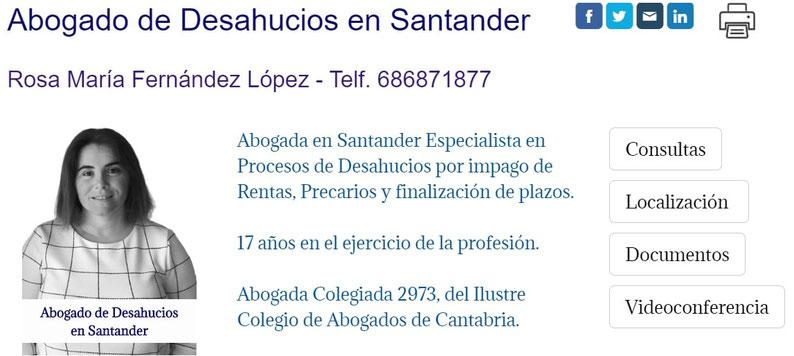 Abogado de Desahucios en Santander