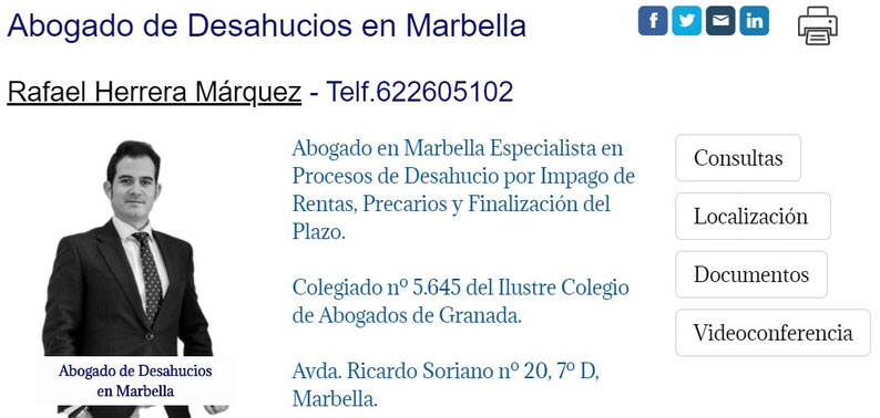 Abogado de Desahucios en Marbella