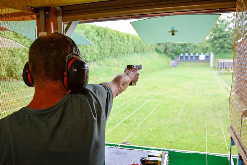 Schiessen Pistole PS Pistolensektion Grosswangen