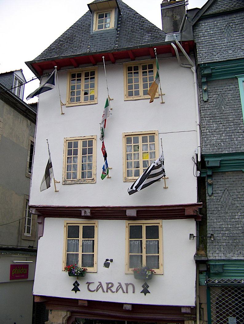 Morlaix,vielles maisons