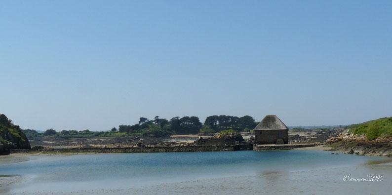 Ile de Brehat,moulin à Marée du Birlot