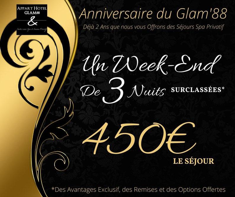 Chambre jacuzzi privé pour week-end Alsace Lorraine