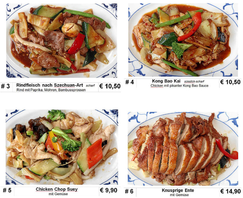 Take-Away Speisekarte, Essen zum Mitnehmen