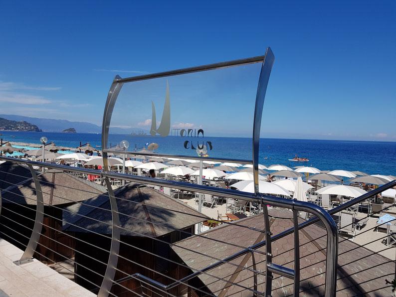 """Das Bagno """"Vittoria Club"""" ist unser bevorzugter Ort."""