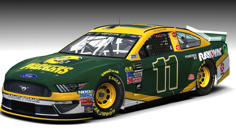 #11 Green Bay Packers Mustang MENCS19