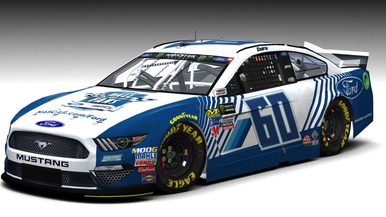 #60 Ford Mustang MENCS19