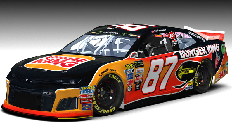 #87 Burger King Camaro MENCS 19