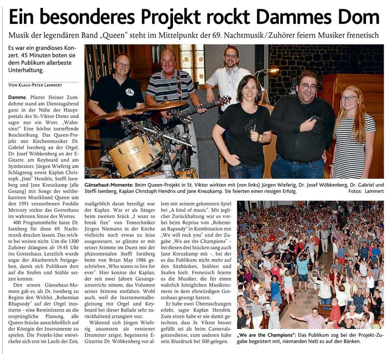 Oldenburgische Volkszeitung, 29.08.2019