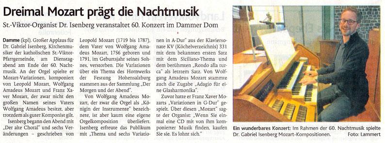 Oldenburgische Volkszeitung 16.08.2018