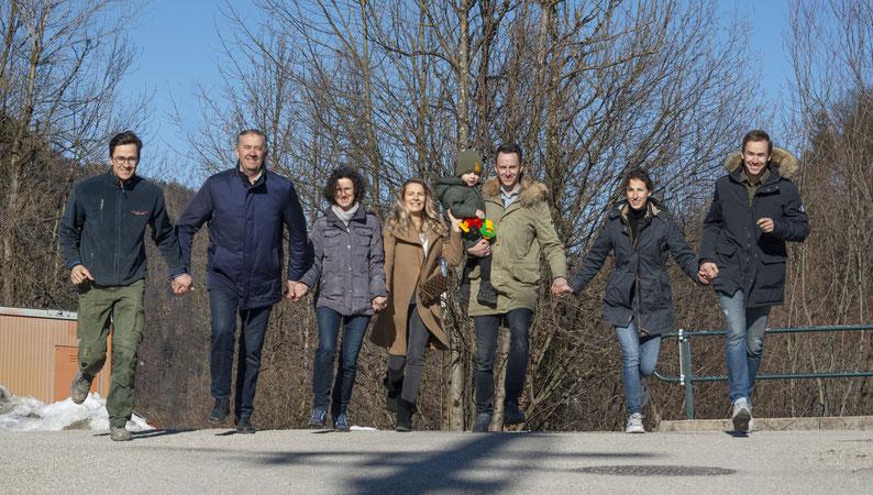 Familie Jakesevic - Es braucht den Zug zum Tor!