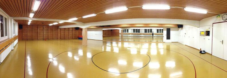 Gymnastiksaal der Schulanlage Guthirt, Mattenstrasse 2 in Zug