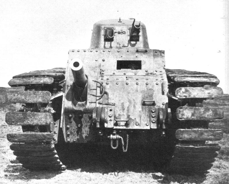 Le prototype SRA de Renault est déjà très proche du futur char lourd français