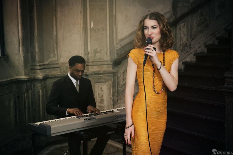Leo Will, James Simpson, Duo, Hannover, Keys, Piano, Pianist, Sängerin, Singer