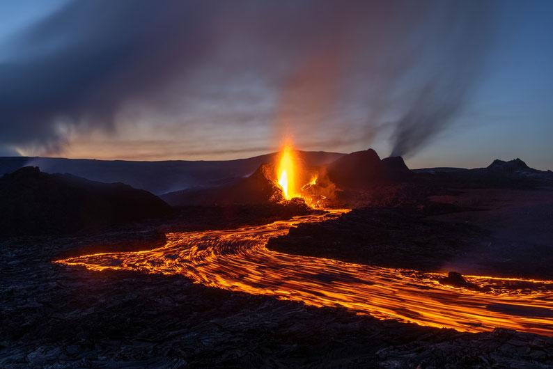 Fagradalsfjall Vulkan