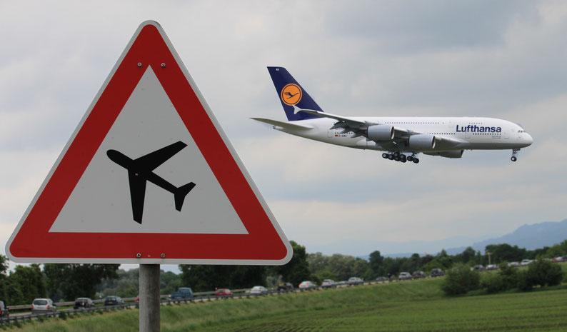 Photoshop-montage vom A380