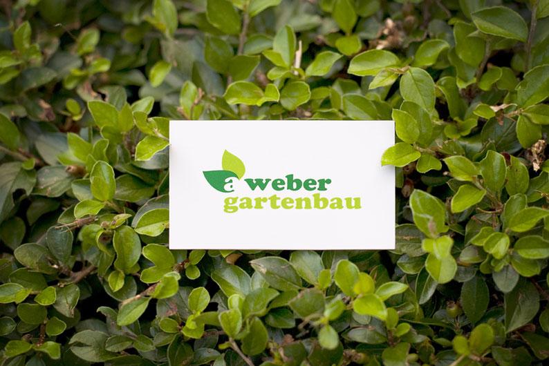 Gartenbau Weber Logogestaltung