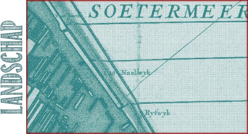 't Hooge Heemraedschap van Delflant, Kruikius, N., 1:10.000, 1712, KB Soetermeer, s.l : s.n., Universiteit Leiden.