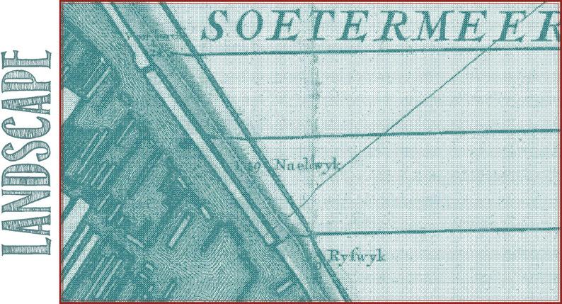 't Hooge Heemraedschap van Delflant, Nicolaas Kruikius, 1712, Sheet 'Soetermeer', 1:10.000. University of Leiden.