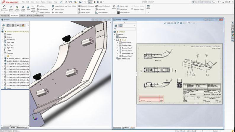 design services 3d cad CAD solidworks FEA concept to manufacture