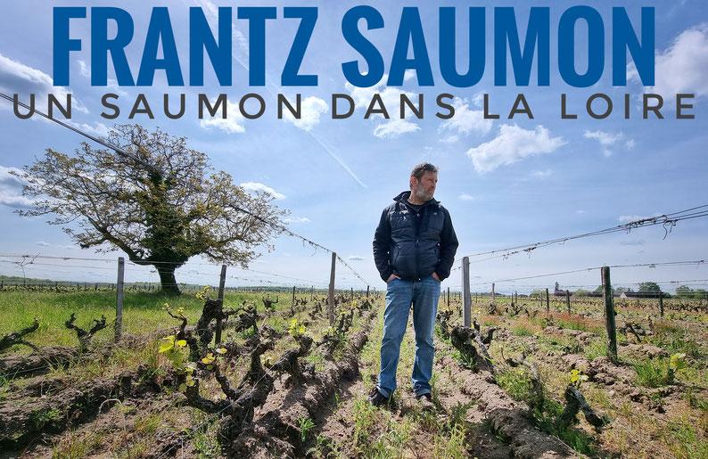 Frantz Saumon in seinem Clos du Chene Weingarten (110 Jahre alte Reben!)