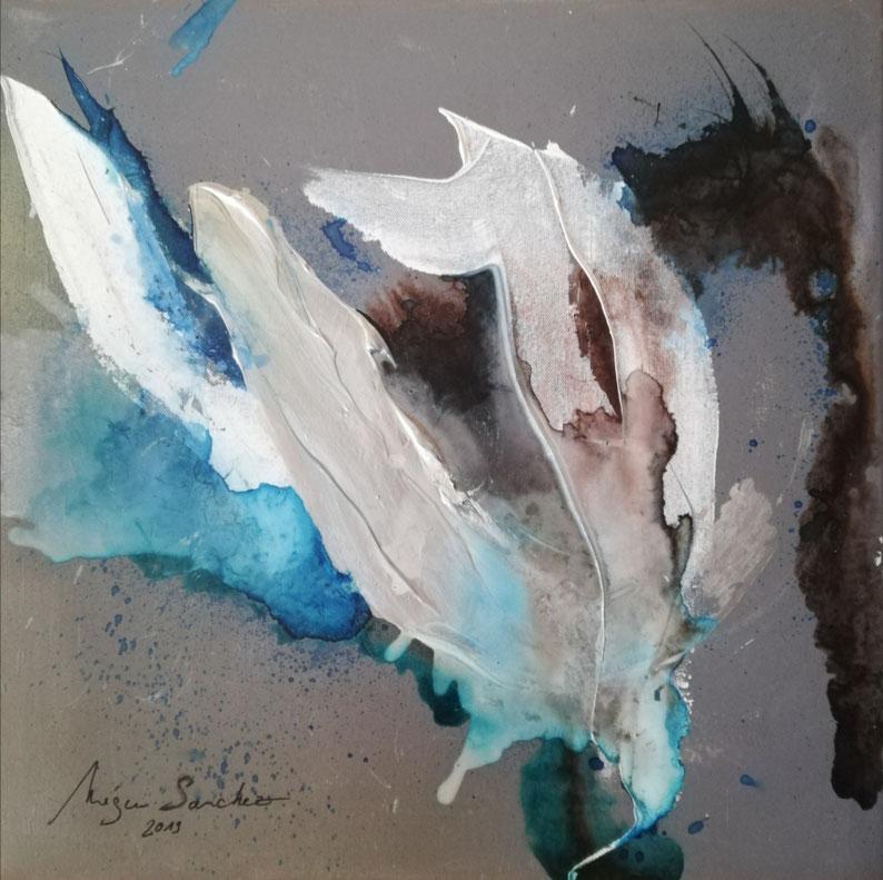 Peinture sur toile 50/50 prix :550€