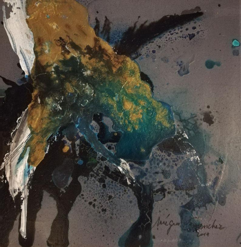 Peinture sur toile 40/40 prix : 480€