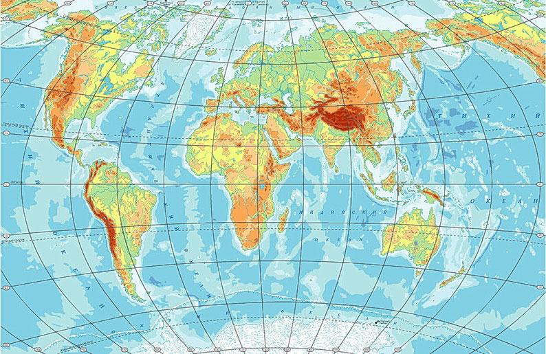 Картинки географической карты