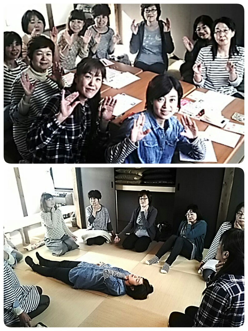 """さとう式リンパケア セルフケア体験会 みんなでぐーぱー🎵(""""⌒∇⌒"""")"""