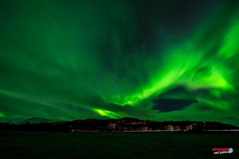 Nordlichter Tour 10/2018 nach Tromsö in Norwegen r