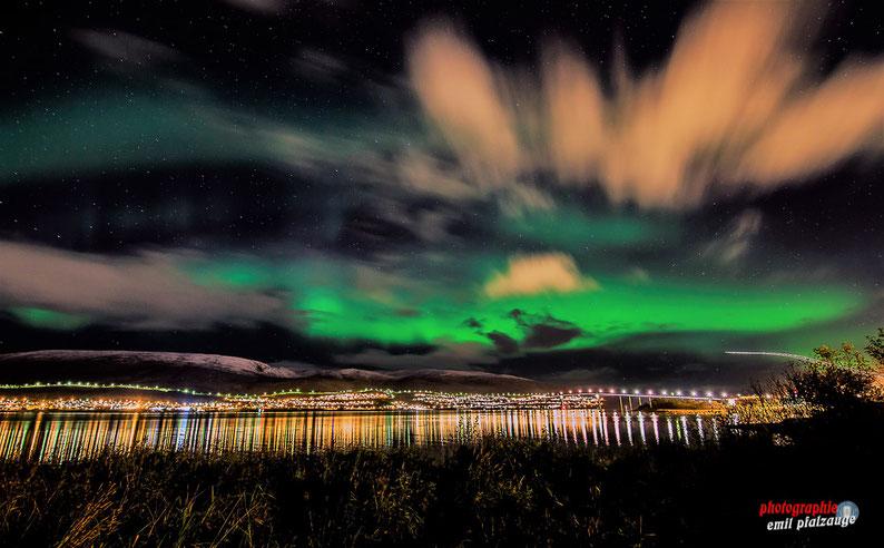 Nordlichter Reise 10/2018 nach Tromsö - Klick auf das Bild und Du kommst zum Album