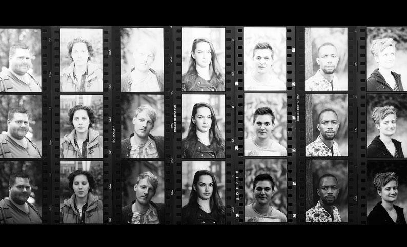 probeer andere zoetermen, collage (analogue photography) ©Risk Hazekamp