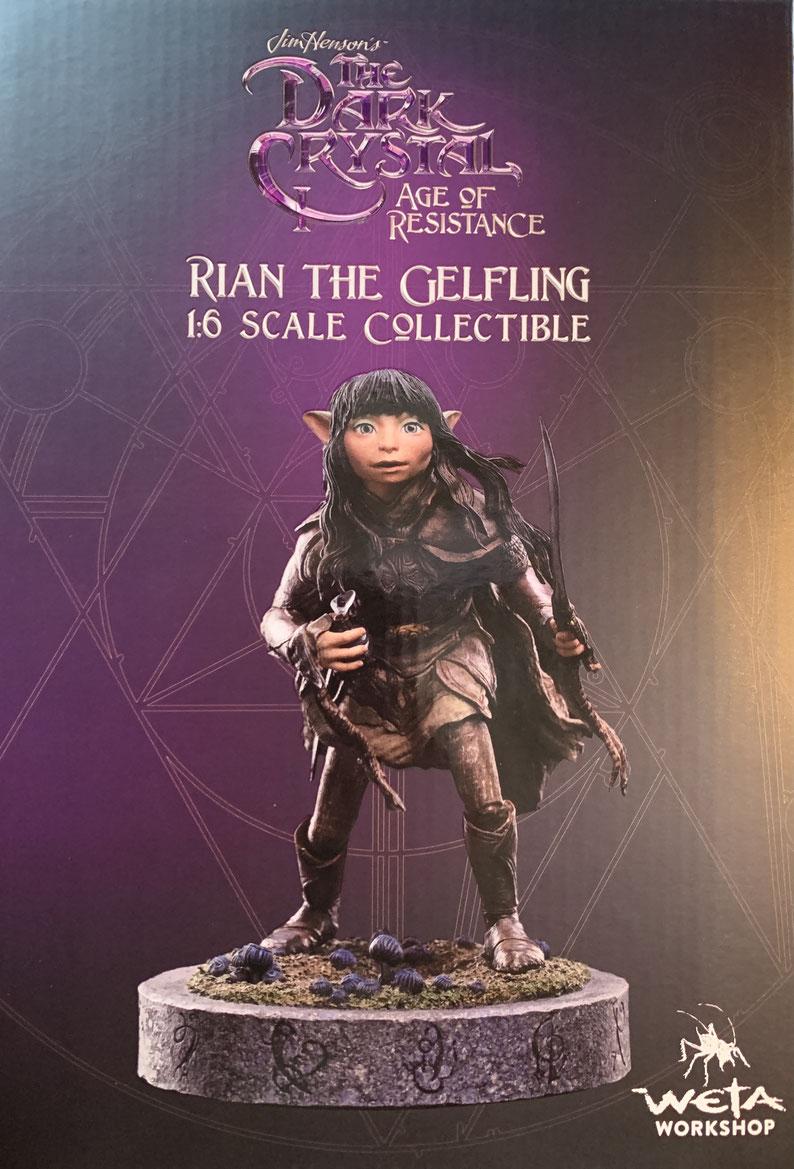 Rian The Gefling 1/6 Der Dunkle Kristall: Ära des Widerstands Statue 16cm Weta