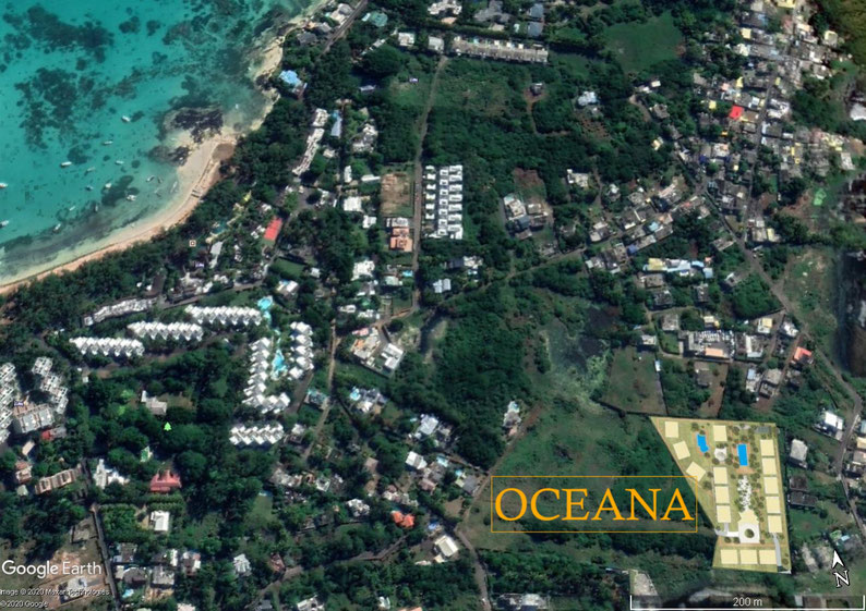 OCEANA APPARTMENTS POINTE AUX PIMENTS MAURITIUS