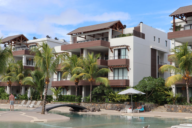 luxury appartment T3 in grand baie mont choisy mauritius