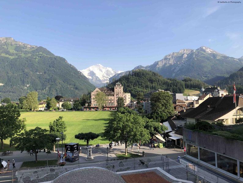 Vom Balkon der Premium Suite Club die Aussicht auf einmalige Natur!