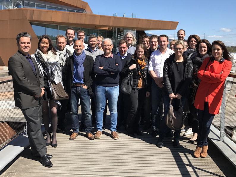 Voyage d'études VUC SYD Haderslev / Photo de groupe / mai 2017 / (c) www.effep.eu
