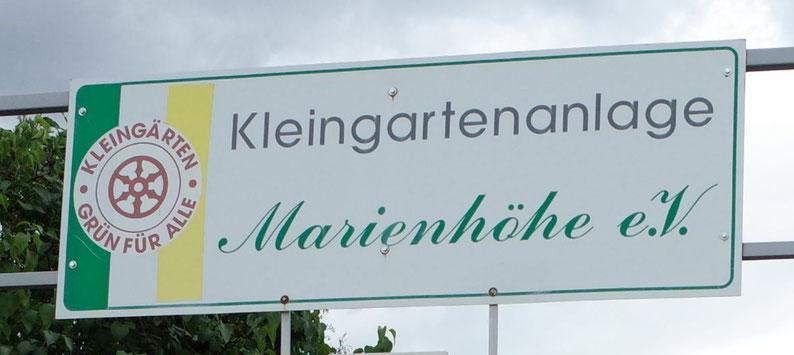 KGV Marienhöhe Erfurt