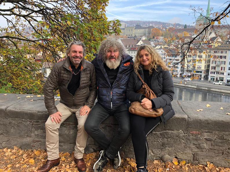 Kern-Team: Wolfgan, Robert und Malu