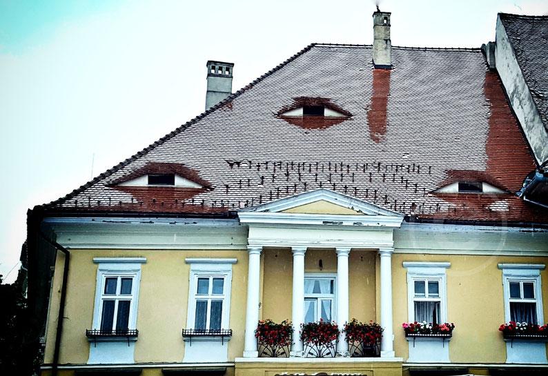 Gli occhi di Sibiu, Romania