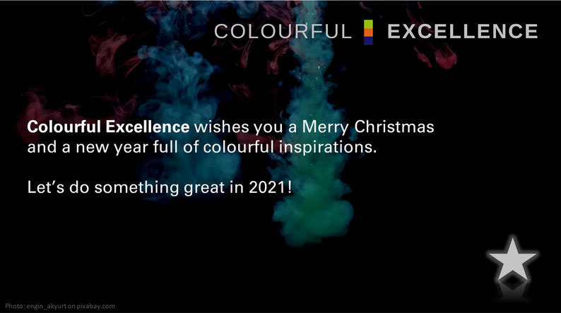 Colourful Excellence wishes a Merry Christmas