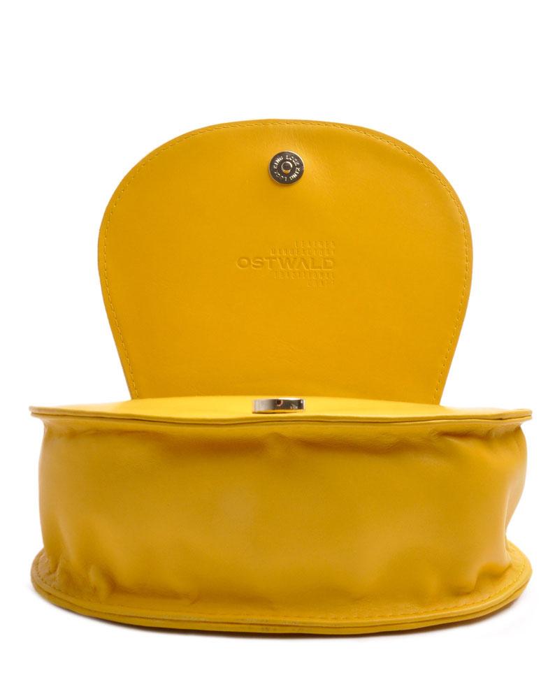 Gelbe Trachtentasche  Leder versandkostenfrei bestellen OSTWALD Traditional Craft