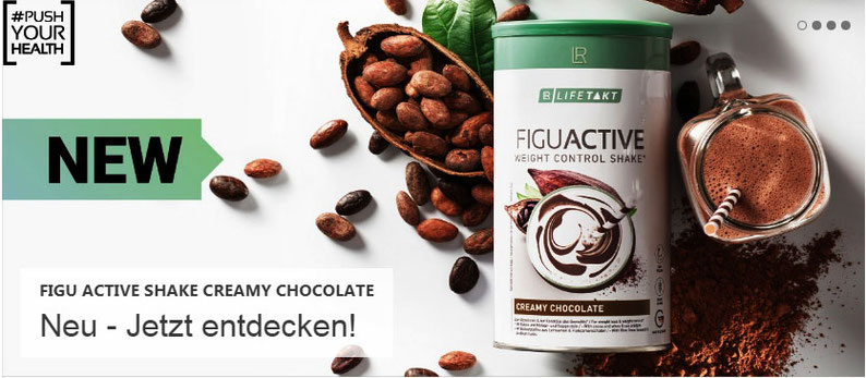 NEU  Figu Active Shake Creamy Chocolate