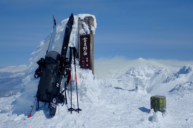 富良野岳山頂