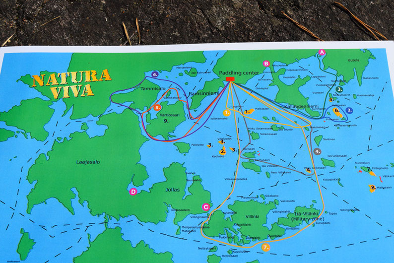 Kayaking in Finland - The Kayaking Map