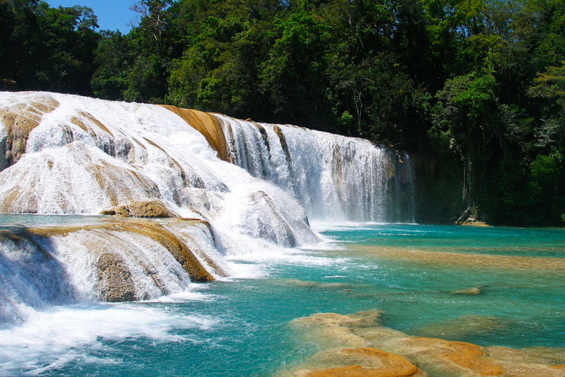 Top Things to See in Mexico - Agua Azul