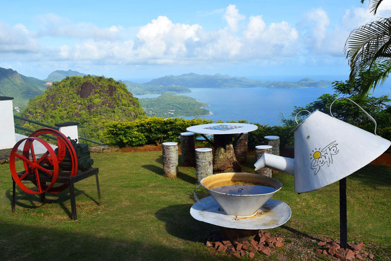 Our trip to the beautiful Seychelles islands - Visiting the Tea Factory