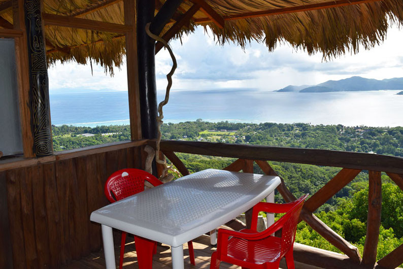 Get Seychelles' Best View at Nid d'Aigle - Snack Bellevue