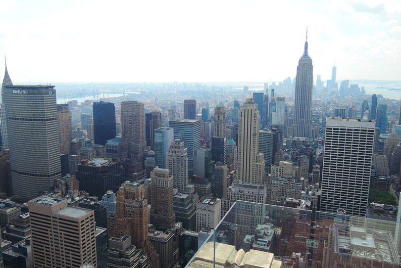 9 Spots to Enjoy the NYC Skyline - Top of the Rock