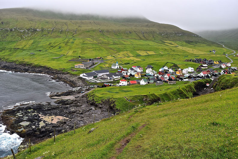 What to See in the Faroe Islands - Gjogv