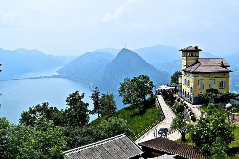 Top Panoramic Views in Switzerland - Monte Bre, Lugano